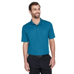 Devon and Jones CrownLux Performance? Men's Plaited Polo