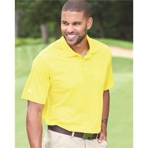 Adidas Golf Climalite Basic Short Sleeve Sport Shirt
